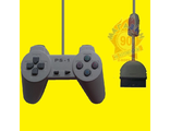 Джойстик для Playstation One, PS 1 (Grey)