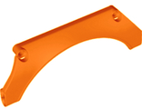 Technic, Panel Car Mudguard Arched 15 x 2 x 5, Orange (24118 / 6146786)