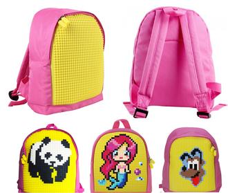 Детский рюкзак Upixel mini Backpack розовый желтый WY-A012