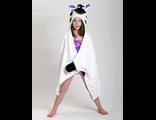 Детское полотенце с капюшоном Zoocchini Зебра Зигги