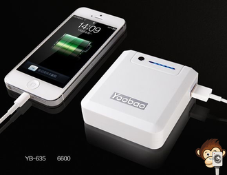 Power Bank Yoobao 6600mAh Magic Box YB-635-2