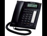 KX-TS2388UAB (цвет чёрный) Panasonic аналоговый телефон купить в Киеве цена
