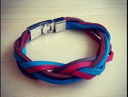 Мужской кожаный браслет mp-04