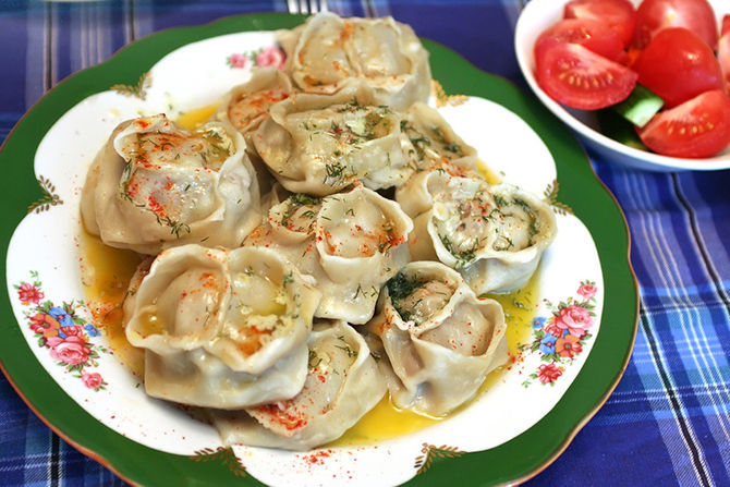Грузинские манты рецепт приготовления как