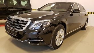 Factory armored Mercedes-Maybach S600 X222 Guard VR9, 2018 YP