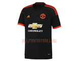 Манчестер Юнайтед запасная футболка 2015-2016 Manchester United FC 3rd Kit 2015-2016