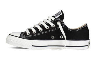 Converse All Star Chuck Taylor low черно-белые (36-44)