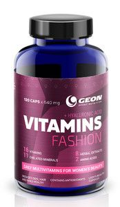 (G.E.O.N.) Vitamins Fashion - (120 капс)