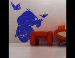 """Детский декор """"Добрый слоник"""""""
