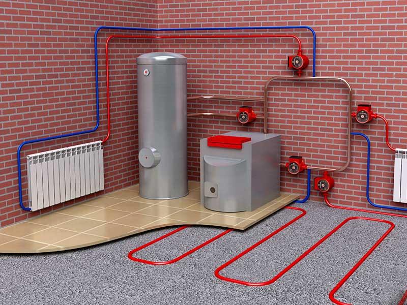 Система отопления и водоснабжения в частном доме своими руками