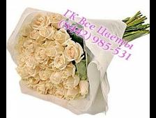 17 белых роз Надежда