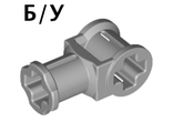 ! Б/У - Technic, Axle Connector with Axle Hole, Light Bluish Gray (32039 / 4211553) - Б/У