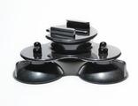 Присоска тройная для экшн камер sj4000 WiFi, sj5000+, sj5000 WiFi, М 10, M 20