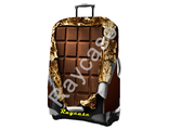 """Чехол для чемодана """"Шоколад"""". Размер M"""