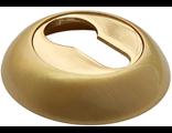 Накладка на ключевой цилиндр RUCETTI RAP KH SG/GP Цвет Матовое золото/золото