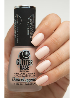 Dance Legend - Glitter Base Nude - нюдовый
