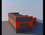Автомойка грузовая АМГ-1.1