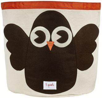 Корзина для хранения 3 Sprouts Сова Brown Owl