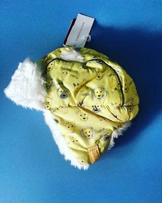 Теплая зимняя шапка-ушанка Reike цвет Yellow