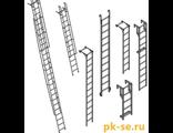 Специальные лестницы (навесные, составные, разборные, колодезные, в резервуары и шахты)