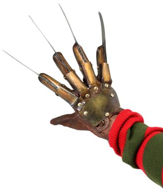 перчатка фредди крюгера, фреди, крюггер, копия перчатки, настоящая перчатка, кошмар на улице вязов