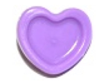 Friends Accessories Hair Decoration, Heart with Pin, Medium Lavender (93080e / 6097073)