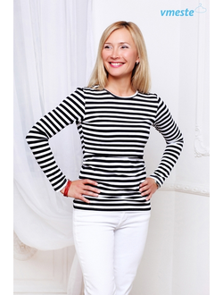 Black & white striped longsleeve