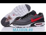 Кроссовки Nike Air Max 90 серо-красные