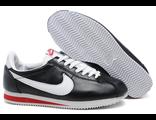 Nike Cortez мужские кожаные бело-черные (41-46)
