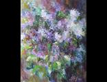 "Круглова И. А. ""Сиреневое настроение"", холст / масло, 50 х 40 см., 2011 г. "