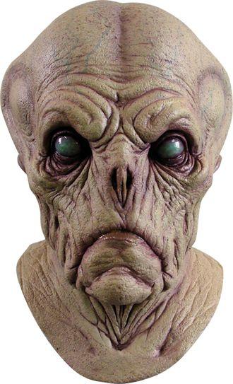 сташная маска пришельца, гуманоид, страх, ужасная маска, ghoulish productions, монстр, из латекса