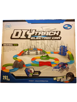 Diy Track Electric Car 261 деталь