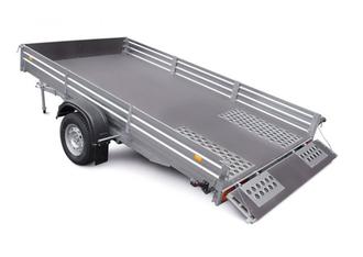 МЗСА 817718.001 Прицеп для перевозки 2 снегоходов, квадроциклов , вездеходов и других грузов (3.44х1.95)