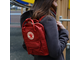 Fjallraven Kanken Mini Deep Red в интернет магазине Bagcom