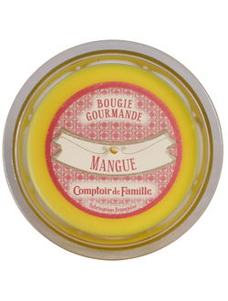 Свеча  MANGUE GOURMANDE YELLOW D12XH8 Парафин Comptoir de Famille