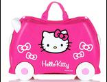Детский чемодан на колесах Trunki Hello Kitty