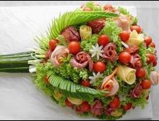 Овощные букеты и композиции
