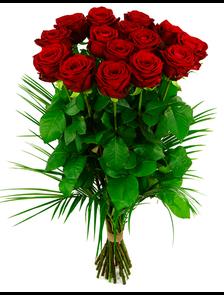 Стрелы любви (15 роз)