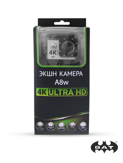 Action camera A8w 4K ULTRA HD