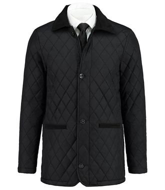 Куртка HAWES & CURTIS Mens Quilted Jacket Black