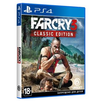 Far Cry 3 Classic Edition (диск  PS4) RUS