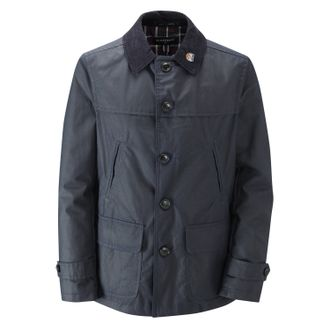 Куртка GLOVERALL Short Car Coat Navy