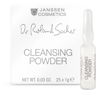 Janssen Dr. Ronald Sacher Cleansing Powder 3х1г