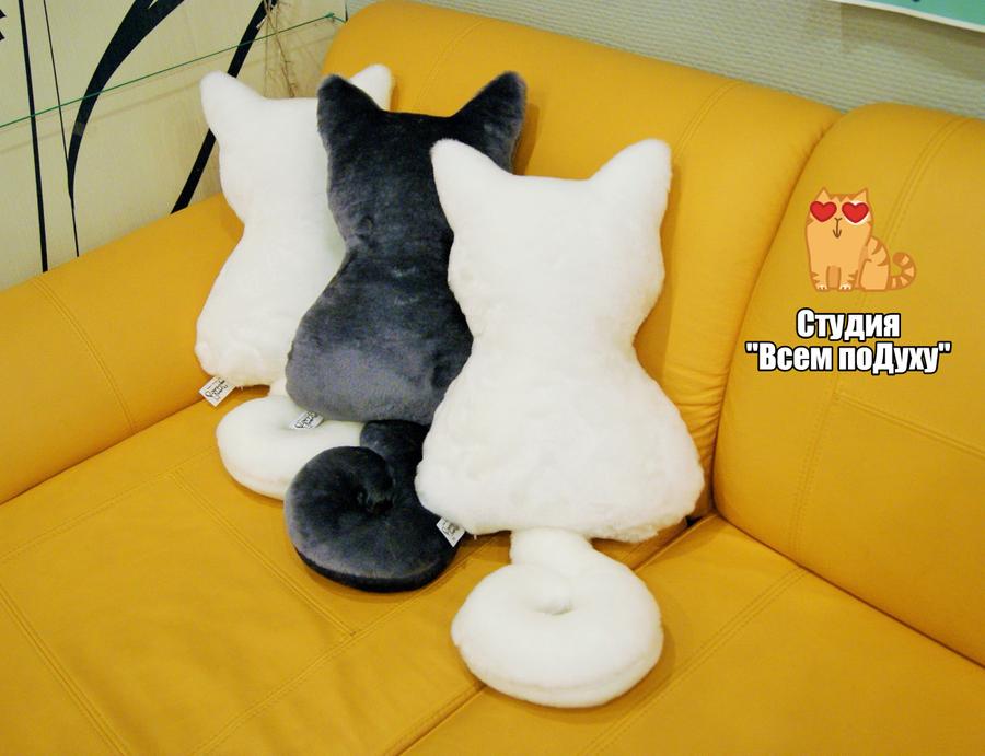 Декоративные подушки кошки своими руками выкройки фото схемы 39