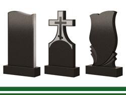 Памятники из гранита на кладбище. Изготовление гранитных памятников на могилу в Томске.