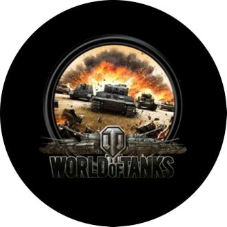 Закатный значок World of tanks 3