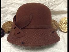 Дамские шляпки из шерсти