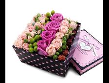 Упаковка подарка, букета и цветов. Подарочные коробки