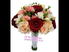 Букет цветов на свадьбу БС-5