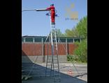 Элементы безопасности к секционным лестницам